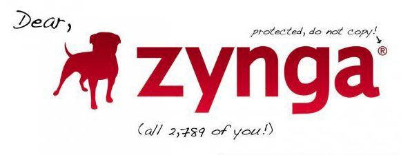 Zynga vergrijpt zich weer eens aan de kleine ontwikkelaar, wordt aan schandpaal genageld