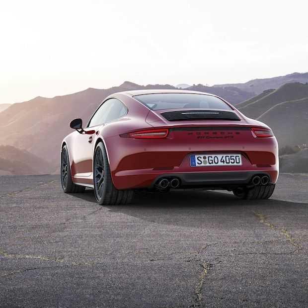 De nieuwe Porsche Carrera GTS, 430 Pk en een topsnelheid van boven de 300 km/h