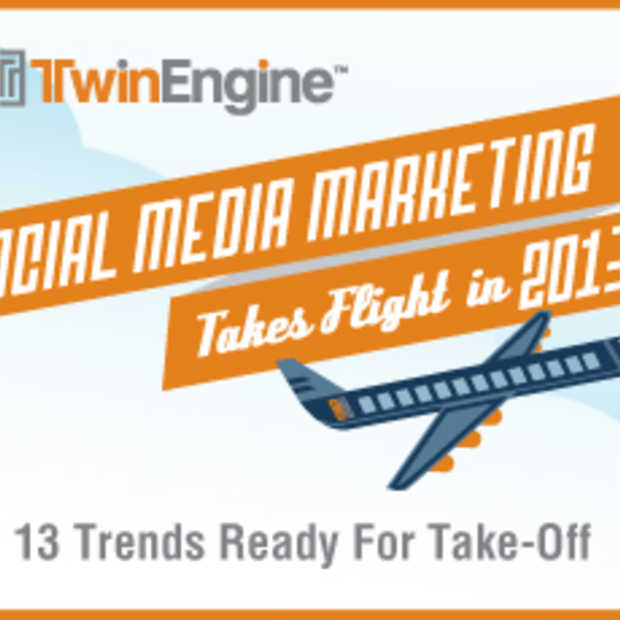 13 Social Media Marketing trends voor 2013 [Infographic]