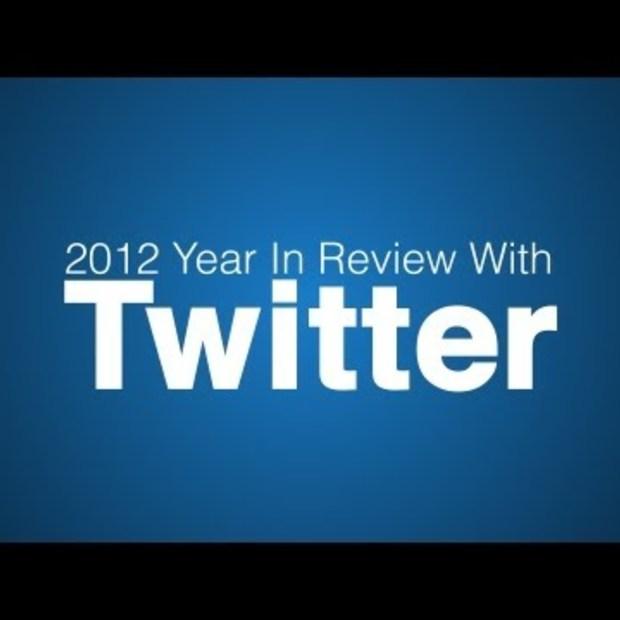 Het jaaroverzicht 2012 in tweets