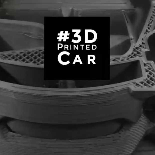 De eerste 3D-geprinte auto is een feit!