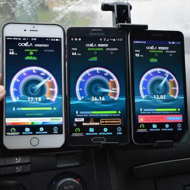 4G vergelijk: T-Mobile is het snelst en KPN heeft het beste bereik