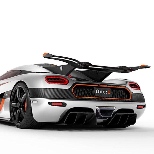Koenigsegg One:1 gaat voor 1 pk per kg