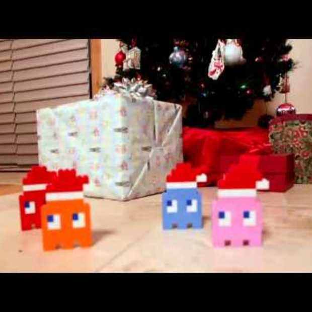 8-bit holiday LEGO en games video