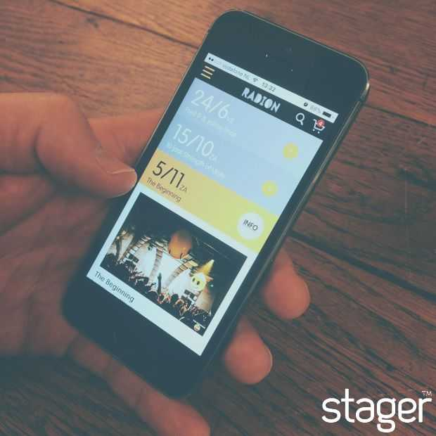 "Stager komt met een ""mobile first"" ticketshop"