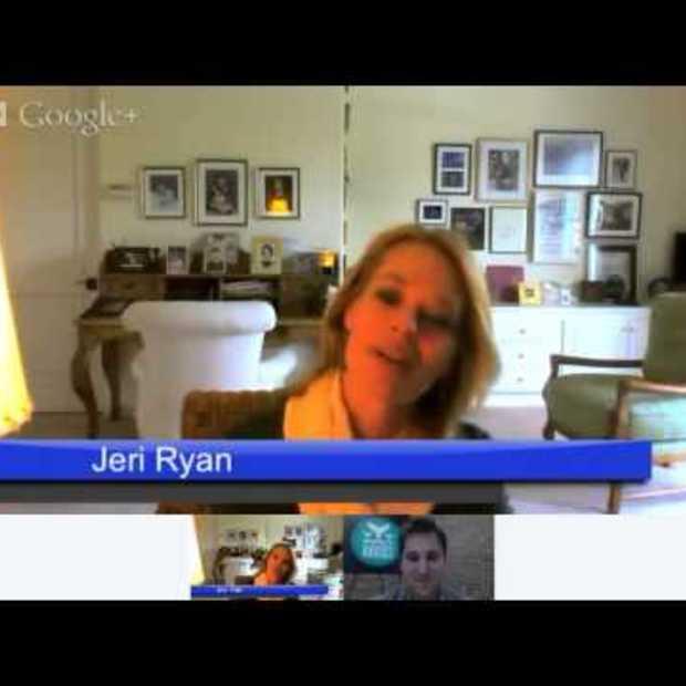Google+ Hangout met actrice Jerri Ryan