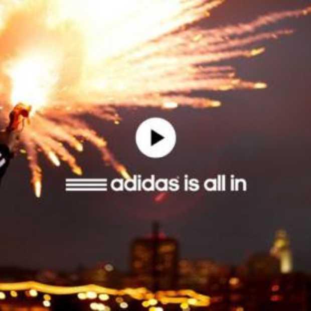 Adidas is All in met grootste marketingcampagne ooit