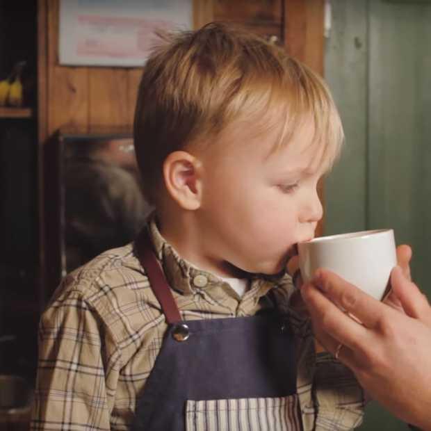 Peuter van 3 jaar is jongste barista ter wereld