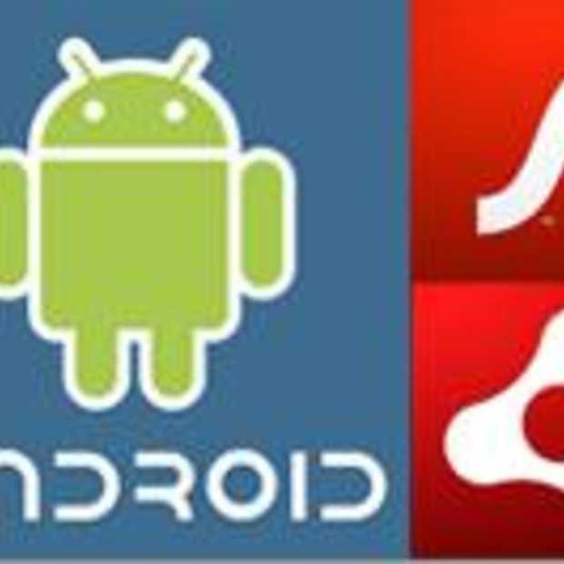 Adobe kondigt Flash Player en AIR aan voor Android