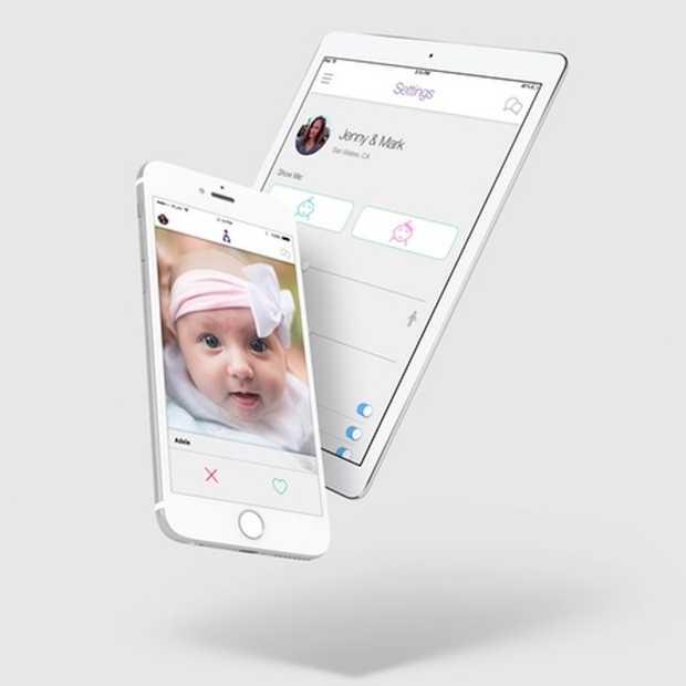 Adoptly, een Tinder-achtige app voor adoptie, móet wel een hoax zijn