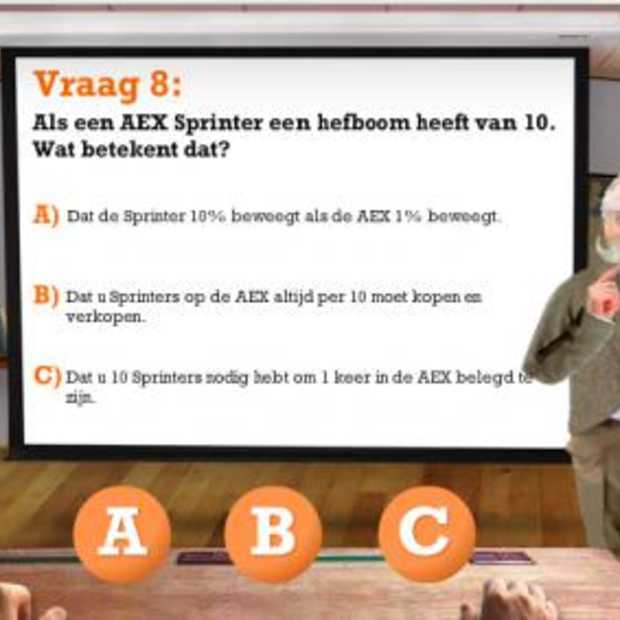 [Adv] De ING ontwikkelt Sprinter Diploma voor beleggers