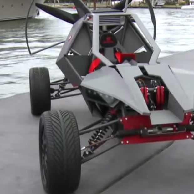 Skyrunner, wie wil er nou geen vliegende buggy?