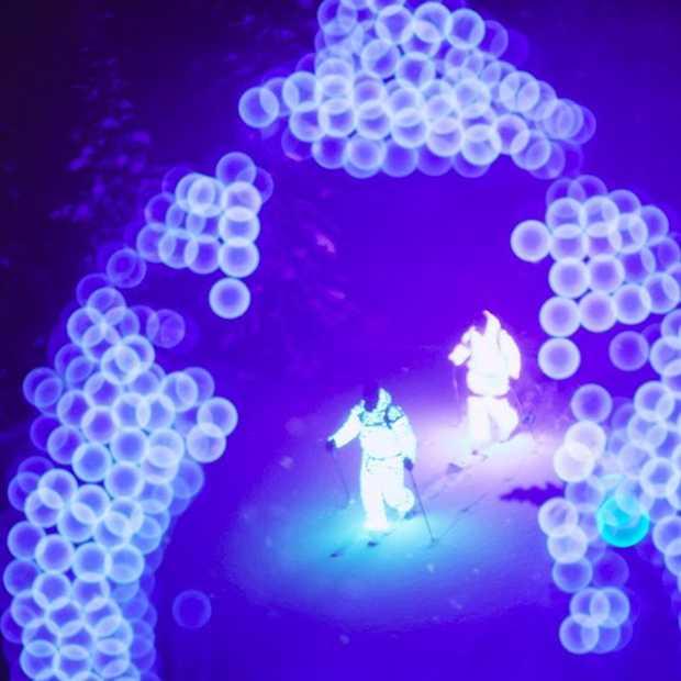 Afterglow: fascinerende skifilm met innovatieve verlichting