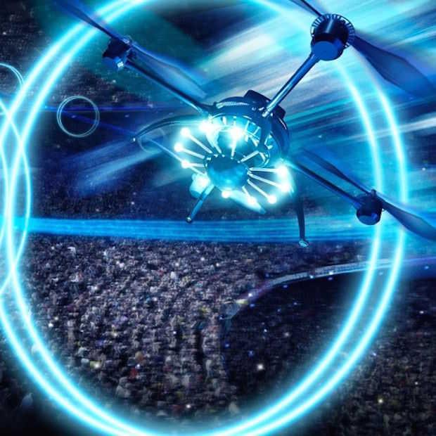 Air: een drone show in de Arena