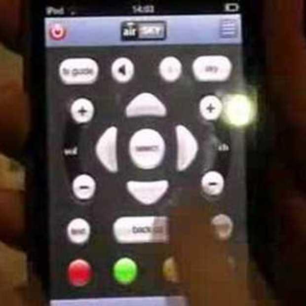 iPhone als afstandsbediening