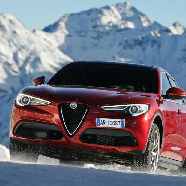 Foto-impressie: Alfa Romeo Stelvio meets the Stelviopas