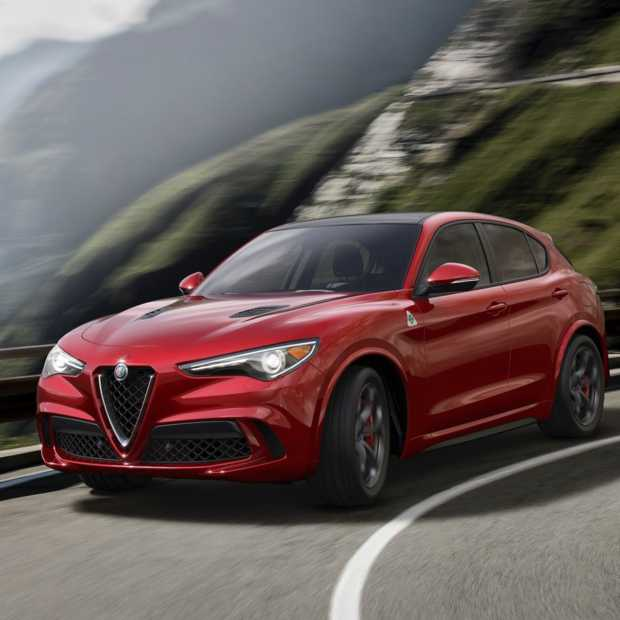Hier is de Alfa Romeo Stelvio, Alfa's  eerste SUV