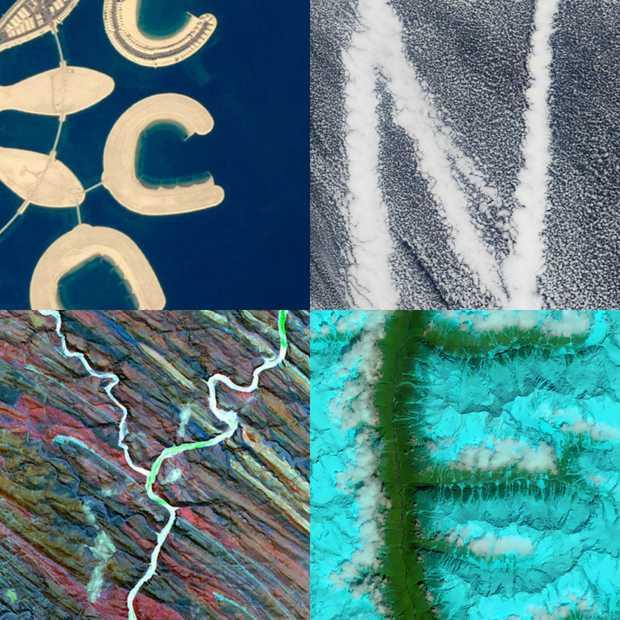 NASA maakt alfabet in foto's vanuit de ruimte