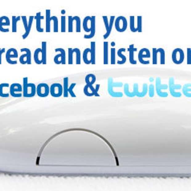 Alles delen wat je kijkt, leest en luistert