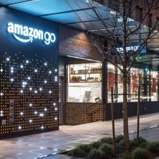 Zo ziet de Amazon Go winkel zonder kassa er uit