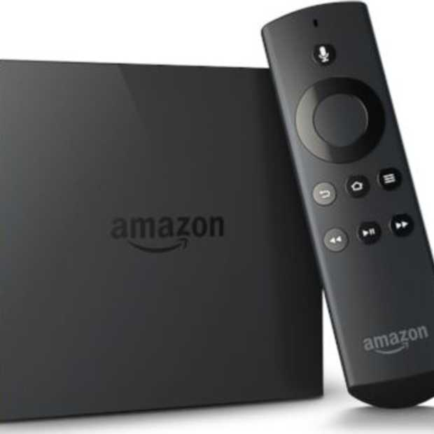 Amazon presenteert Fire TV, maar alleen voor de V.S.