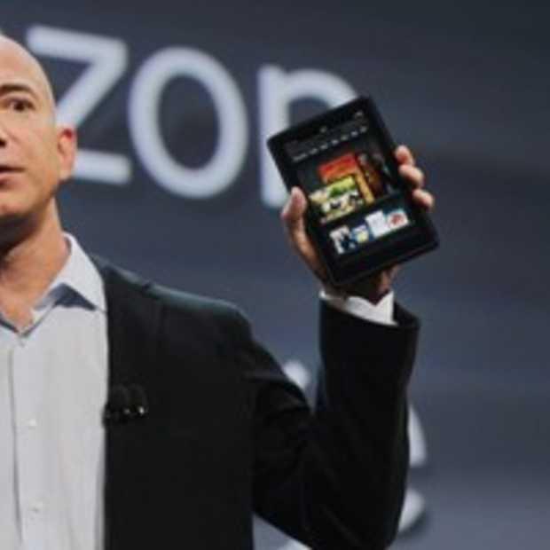 'Amazon zal zo'n 50 dollar verliezen op iedere verkochte Kindle Fire'