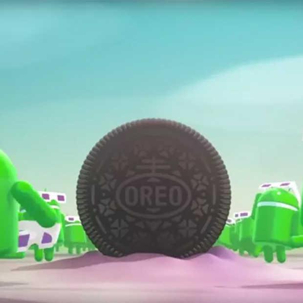 Android Oreo is de naam van Google's nieuwe besturingsysteem
