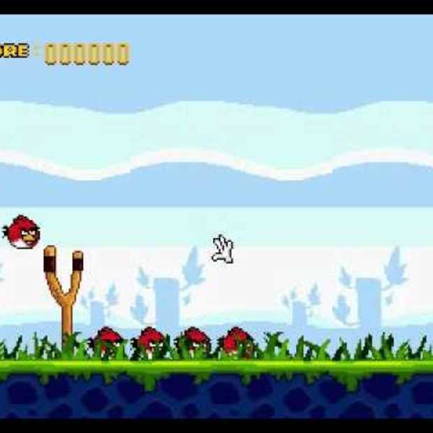 Angry Birds Megadrive