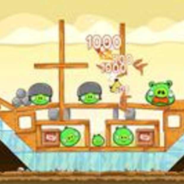Angry Birds HD update leidt tot boze fans