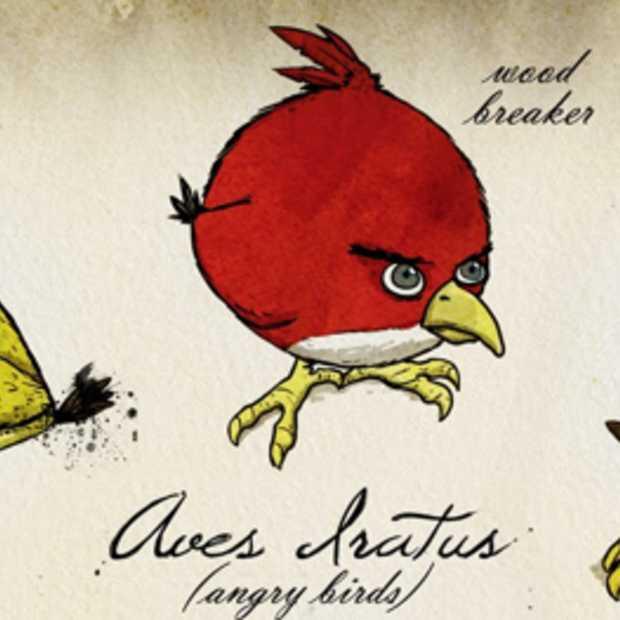 Angry Birds toch weer 6,5 miljoen keer gedownload deze kerst