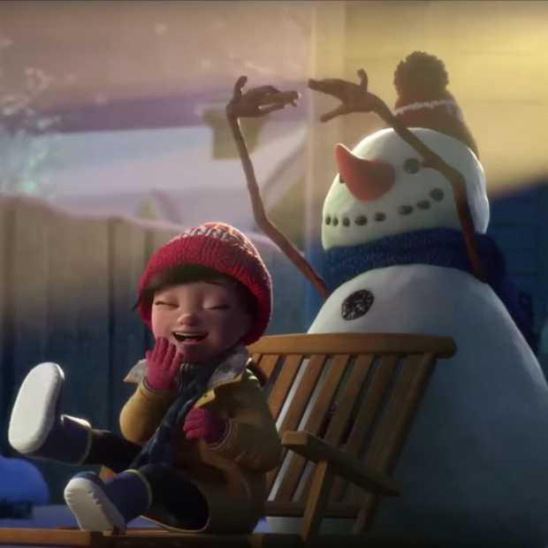 Deze aandoenlijke sneeuwpop doet je smelten!