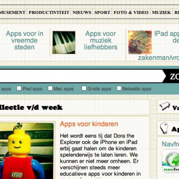 AppFish, een website met Nederlandstalige app-reviews