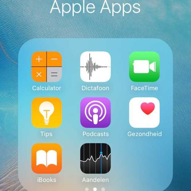 Zo verwijder je de standaard apps op je iPhone
