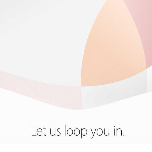 """Zo kan je vandaag het Apple """"Let us loop you in"""" event volgen"""