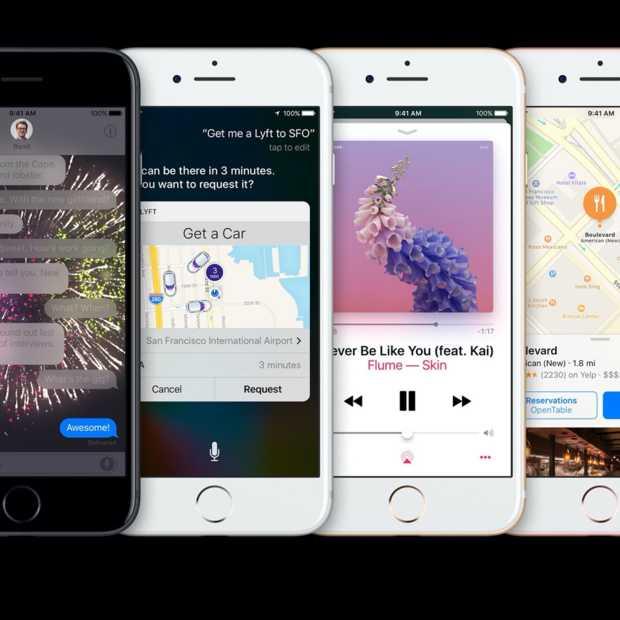 iOS 10 is vandaag beschikbaar en dit zijn de meest opvallende features