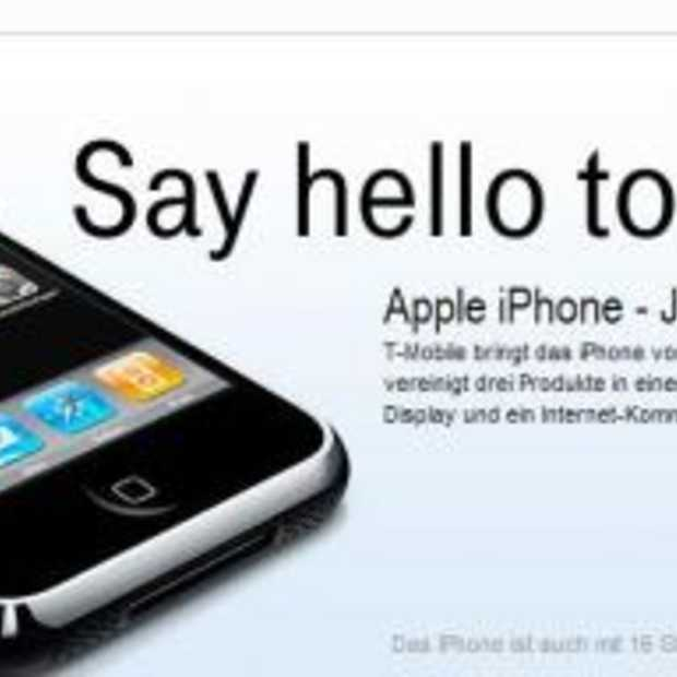 'Apple iPhone - Jetzt bei T-Mobile'