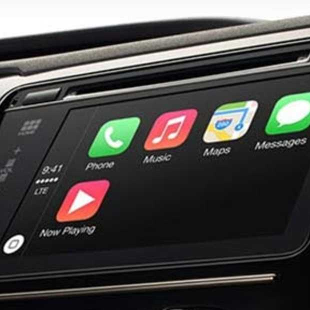 Apple komt met Carplay, veilig je iPhone in de auto gebruiken