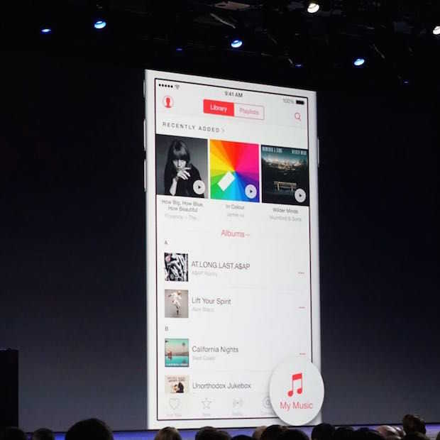 Apple Music streamt 'maar' tot 256kbps