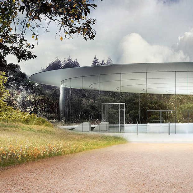Apple Park gaat in april open voor de eerste werknemers