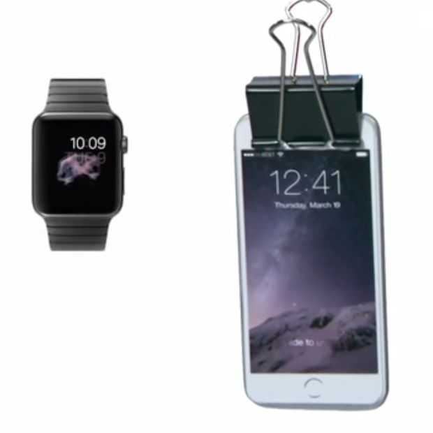 Apple Watch te duur? Koop dan de Pocket Watch (fun)