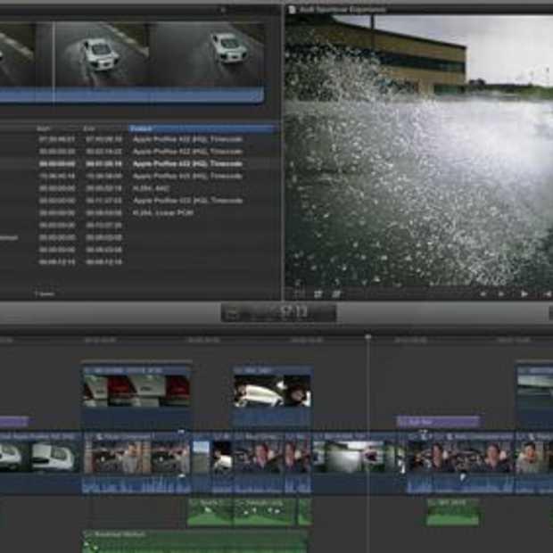 Apple's Final Cut Pro X nu beschikbaar