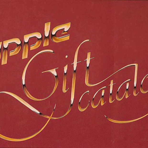 Apple's gift catalogus uit 1983