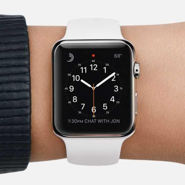 Apple grijpt 75% van de smartwatch markt