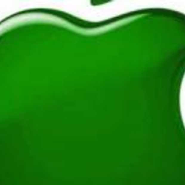 Apple wordt groener