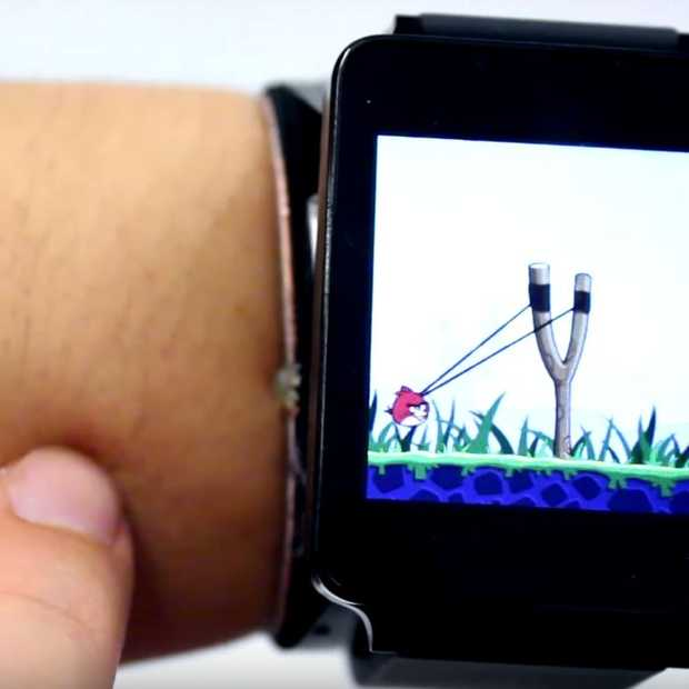 SkinTrack: je arm als smartwatch-touchscreen