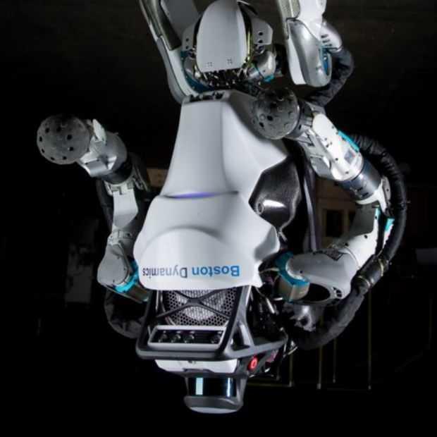 Holy crap: Atlas robot kan salto's achterover doen