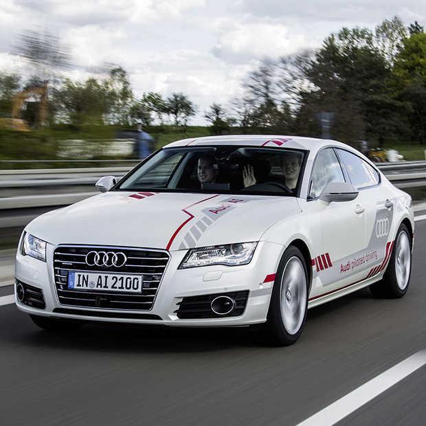 Veel tests met zelfrijdende Audi's op Duitse Autobahn