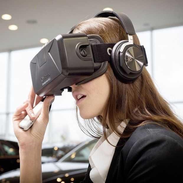 Met een 3D headset je favoriete Audi bekijken