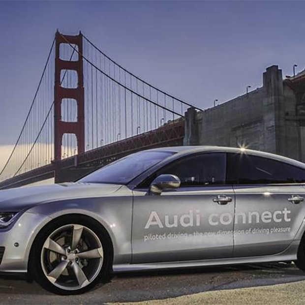Audi krijgt toestemming om zelf-rijdende auto te testen in Californië