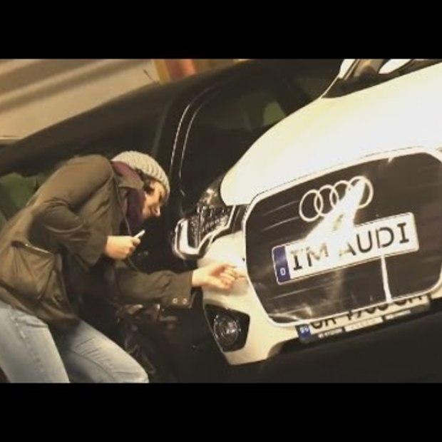 Audi campagne tijdens Halloween